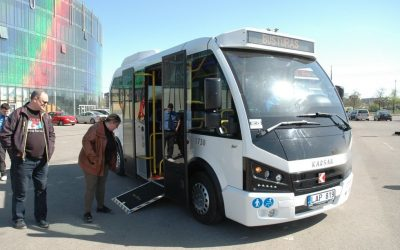 Šiaulių keleivių vežėjai rūpinasi negalią turinčiais žmonėmis