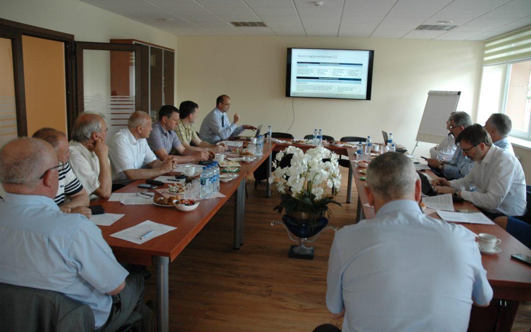 Prezidiumo posėdyje Klaipėdoje aptartos problemos