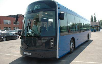 Klaipėdoje išbandomas naujas lietuviškas elektrinis autobusas