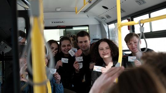 Elektroninis bilietas Alytuje – pirmųjų dienų skaičiai