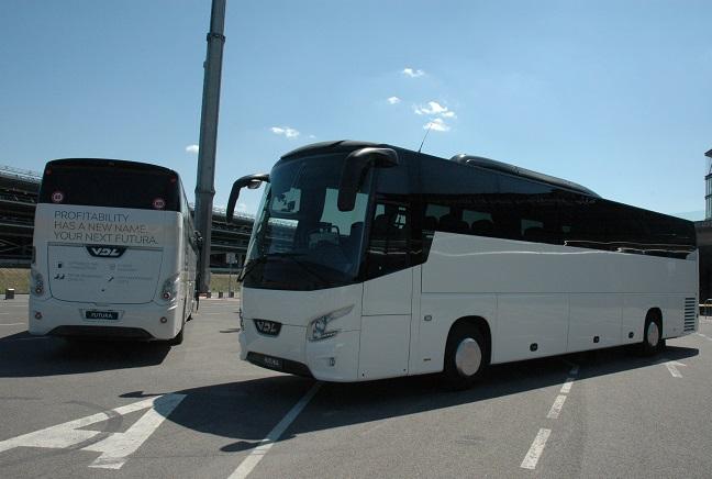 """Kaune pristatyti """"VDL Futura"""" autobusai"""