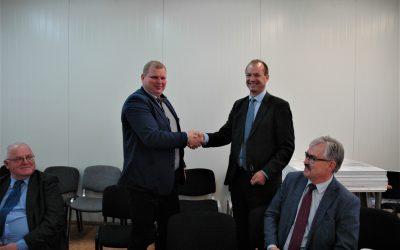 Naujosios Akmenės autobusų parkas – naujas asociacijos narys