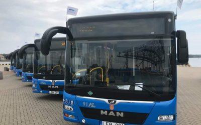 Klaipėdoje – nauji, ekologiški autobusai