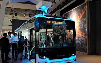 """""""Busworld Europe"""" parodoje naujos kartos miesto autobuso """"Scania Citywide"""" premjera"""