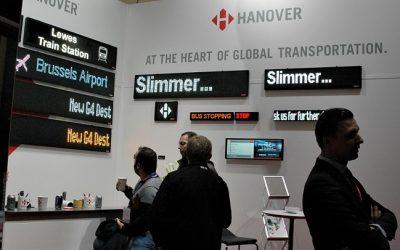 """""""Hanover Displays"""" stende """"Busworld Europe"""" – ketvirtosios kartos švieslentė"""