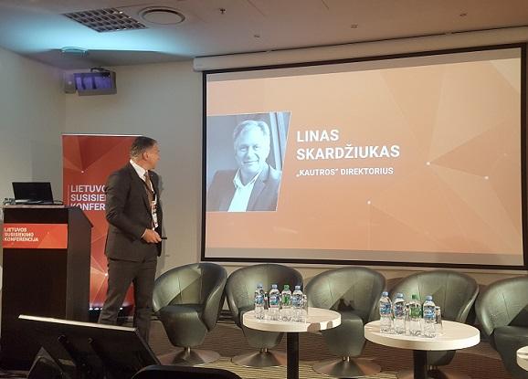Linas Skardžiukas: nesame tik vežėjai, esame paslaugas teikianti įmonė