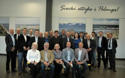Keleivių vežėjai rinkosi į pasitarimą Palangoje bei lankėsi Skuode