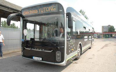 Naujovė: į sostinės gatves išvažiuoja kiniškas elektrinis autobusas