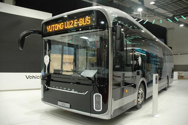Klaipėdos autobusų parke dar vienas elektrinis autobusas