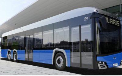 """Pasaulinė """"Solaris Urbino 15 LE Electric"""" premjera – virtualiai"""