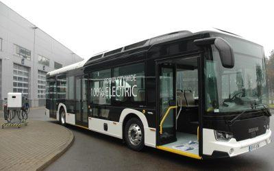"""Sostinėje pristatytas naujas elektrinis """"Scania Citywide"""""""