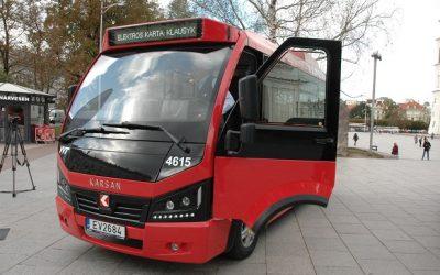 2030 m. Vilniuje daugiau nei pusė viešojo transporto bus elektriniai