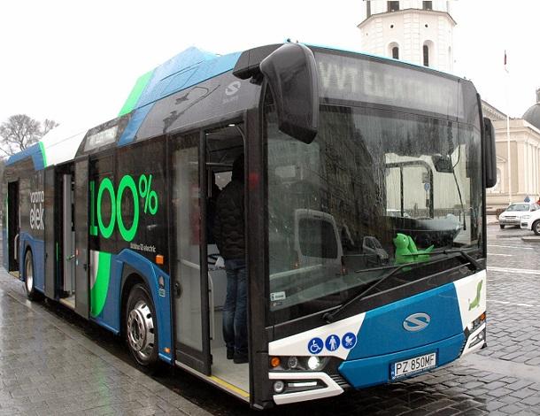 Koks elektrinis autobusas veš keleivius Jonavoje?