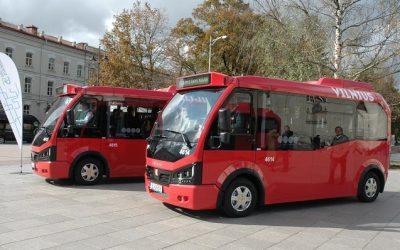 Kaip Lietuvoje esantys elektriniai autobusai atlaiko šaltį ir sniegą?