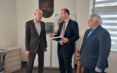 LKVA prezidentas Elektrėnuose padėkojo už asociacijos steigimą